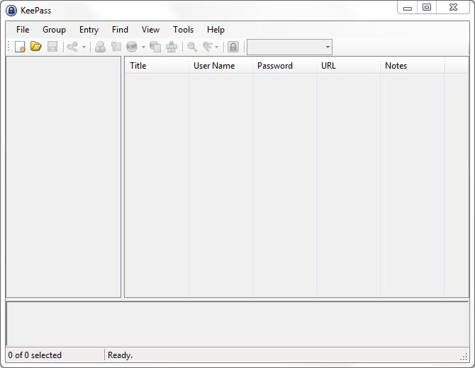 revisión keepass para windows