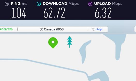 nordvpn canada slower than express