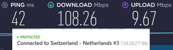 nordvpn double vpn speeds