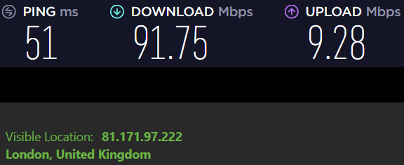 nordvpn or ipvanish speed test