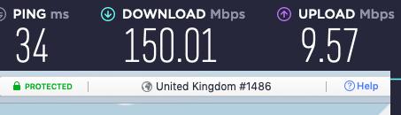 nordvpn uk speeds fast