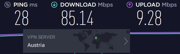 private internet access compared to nordvpn speed