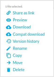 sync.com menu