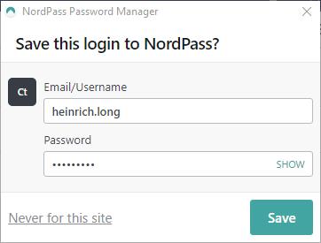 NordPass login