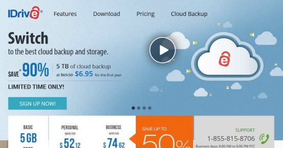 idrive cloud storage