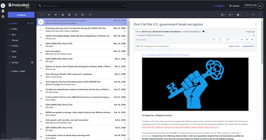 protonmail pgp review