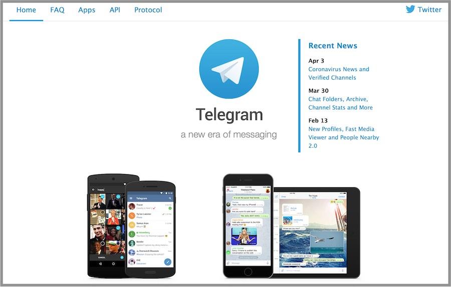 telegram secure messaging