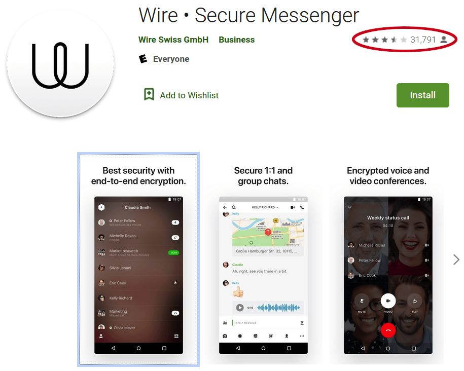 wire mobile apps