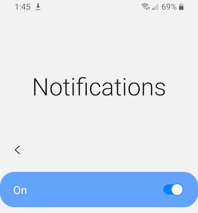 android notifications privacy