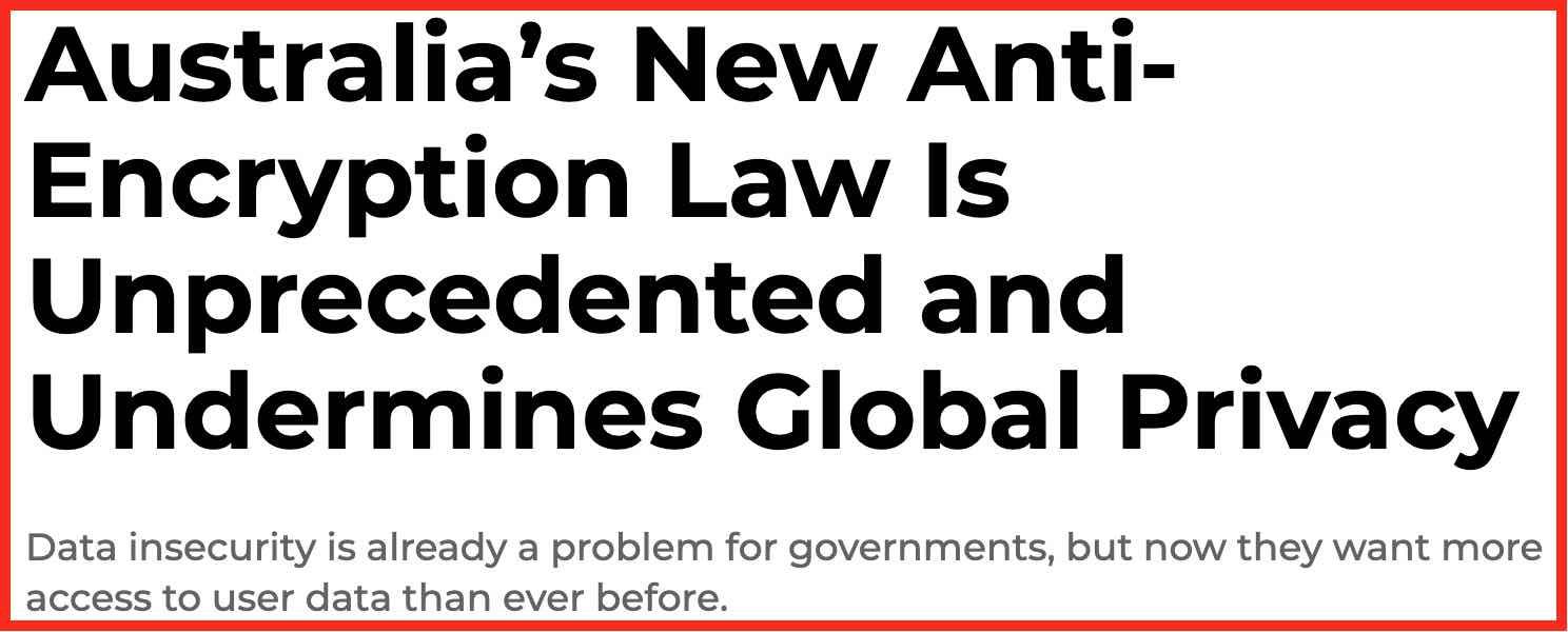 australia encryption law vpn