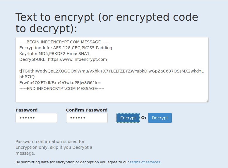 email encryption with infoencrypt