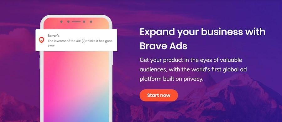 Brave browser ad blocker