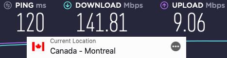 ExpressVPN fast in Canada