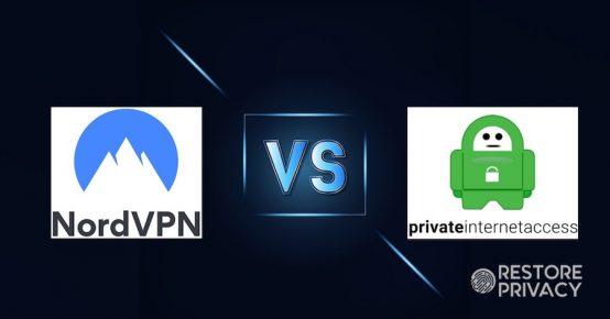 NordVPN vs PIA Comparison