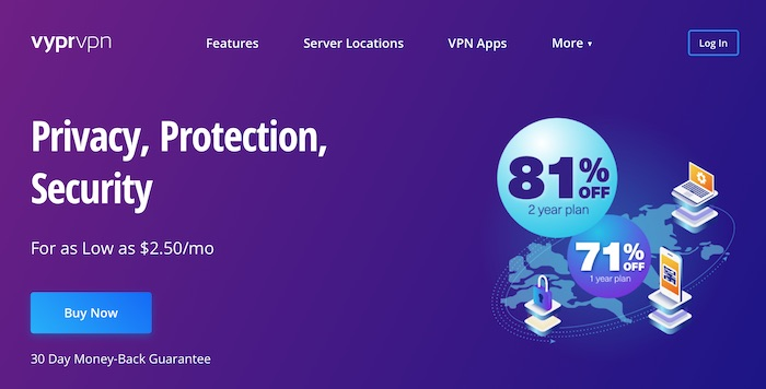 vpn with no logs