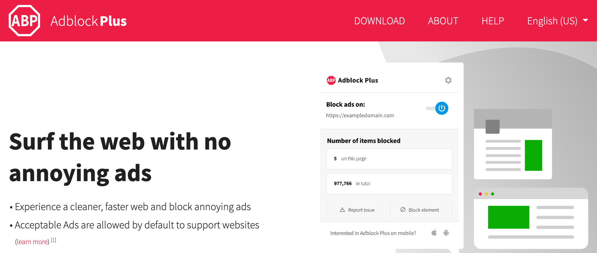 adblock plus no annoying ads