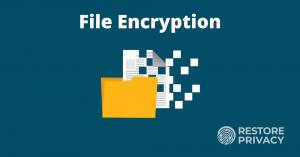 how to encrypt files