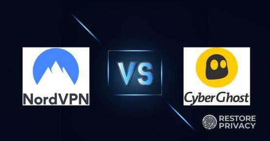 nordvpn vs cyberghost 2020