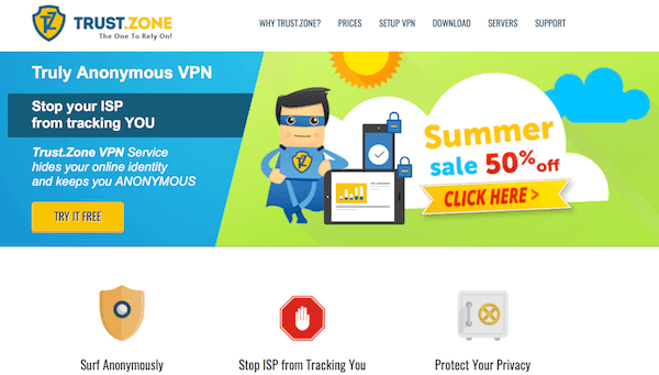 VPN with free trial no credit cards