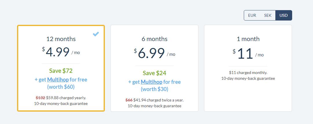 ovpn pricing