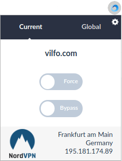 vilfo browser extension