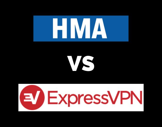 ExpressVPN vs Hide My Ass HMA
