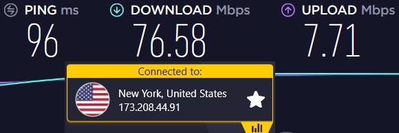 cyberghost speeds us vs nordVPN
