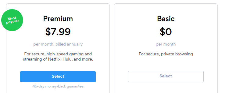 hotspot shield price