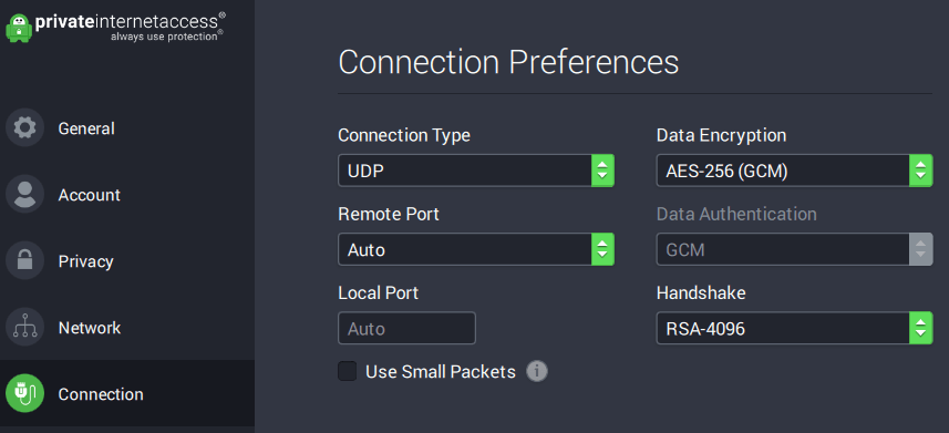 pia and express vpn encryption secure