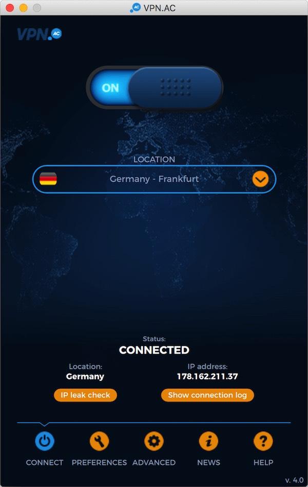 vpn app for MacBook