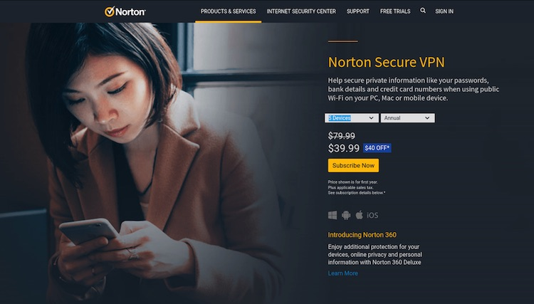 Norton VPN review