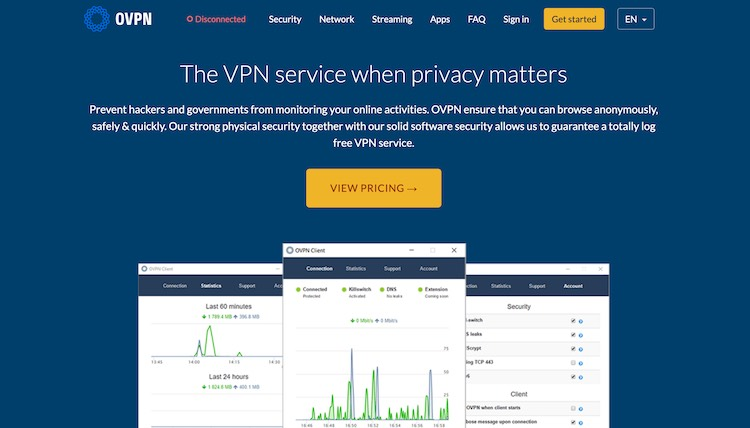 VPN in Sweden with no logs