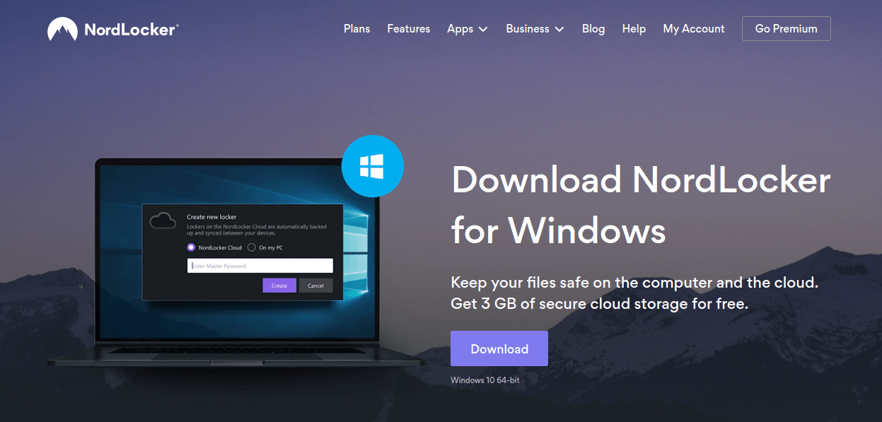 download nordlocker for windows