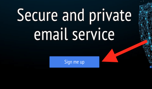 mailfence signup