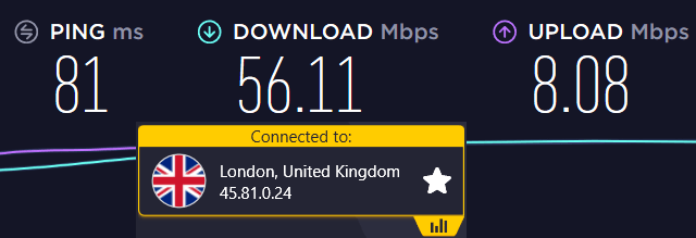 nord vpn speeds faster than cyberghost