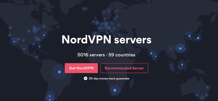 nordvpn servers secure