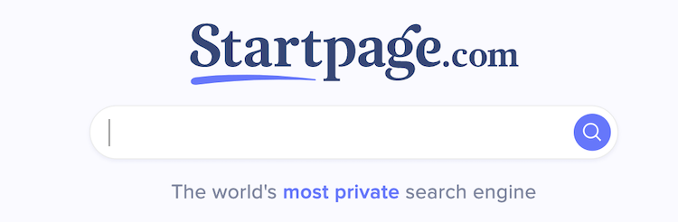 startpage private search