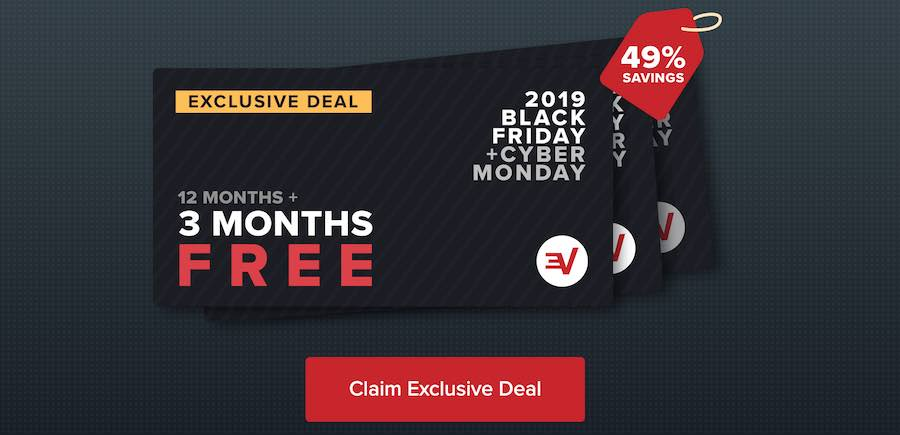 ExpressVPN Black Friday discount