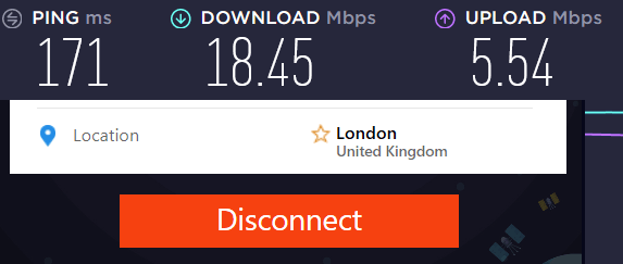 PureVPN vs NordVPN UK speed test