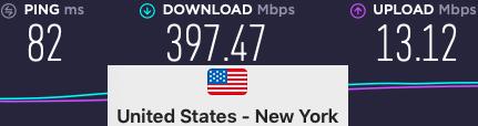 Surfshark VPN speeds
