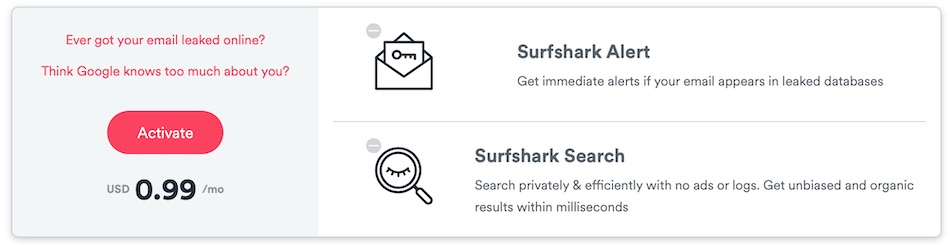 Surfshark discounts for Cyber Monday