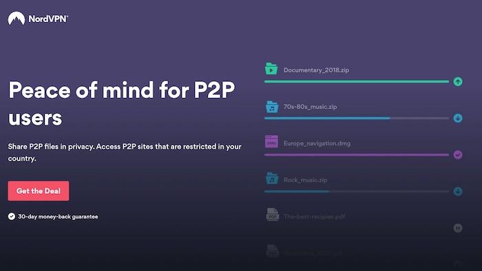 best vpn for p2p torrents