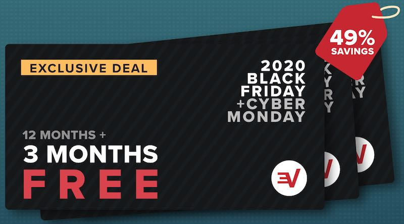 Black Friday and Cyber Monday sale for Express VPN