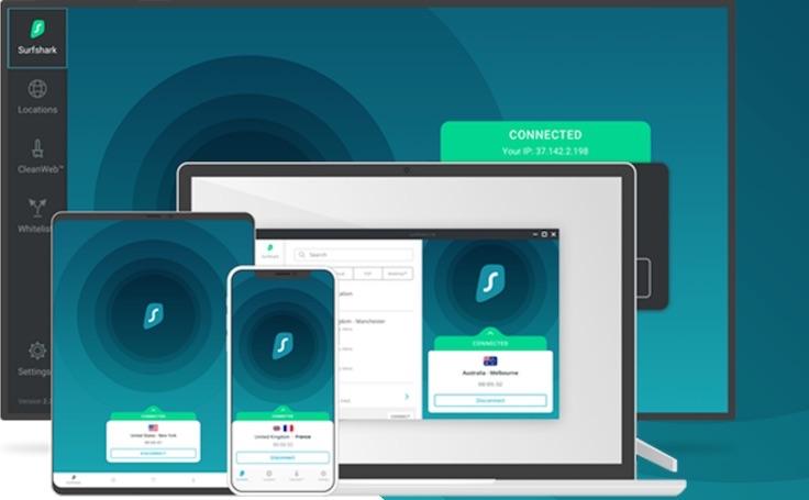 Cyber Monday VPN Deal Surfshark