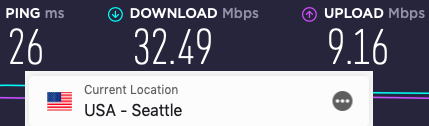 ExpressVPN slow speeds