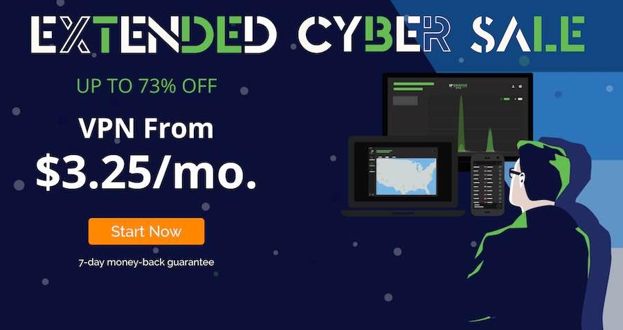 IPVanish Cyber Black Friday Sale