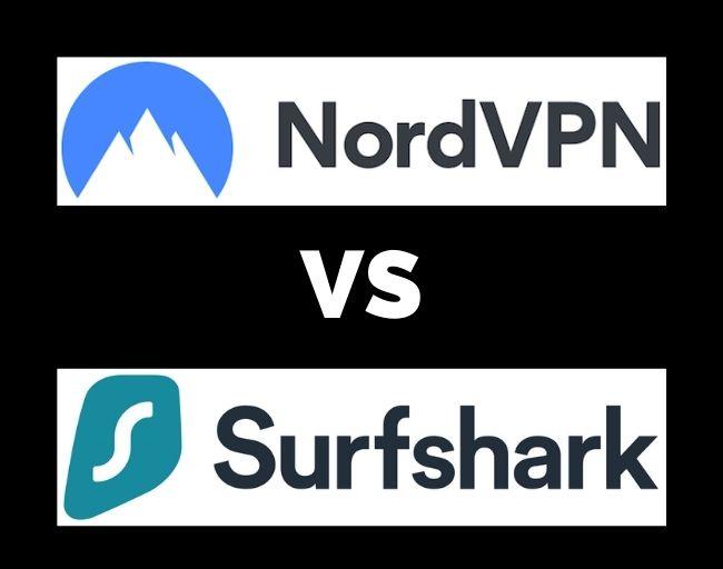 NordVPN vs Surfshark VPN