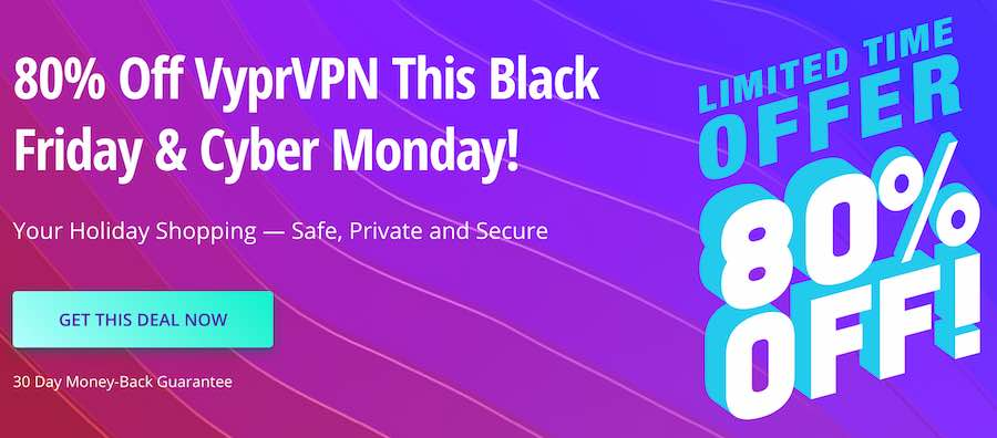 Vypr VPN Black Friday Coupon Savings