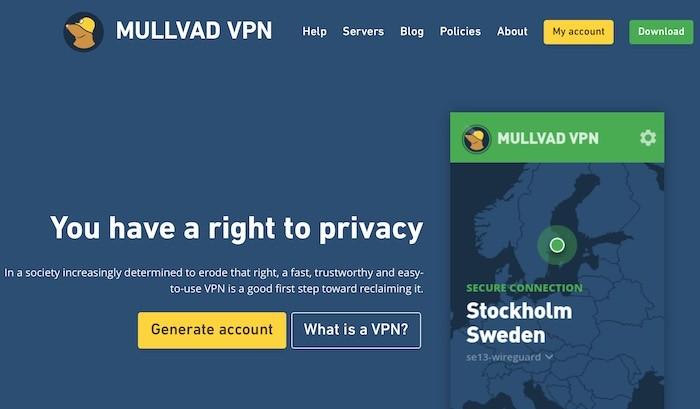 guardia de alambre con servicio VPN