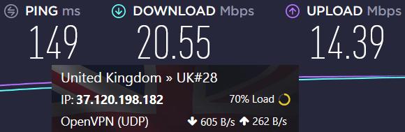 free vpn speeds slow